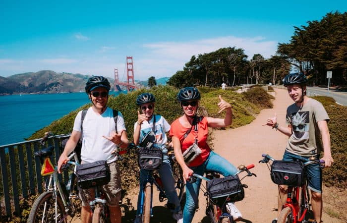 SF Golden Gate Bridge Electric Bike Tour