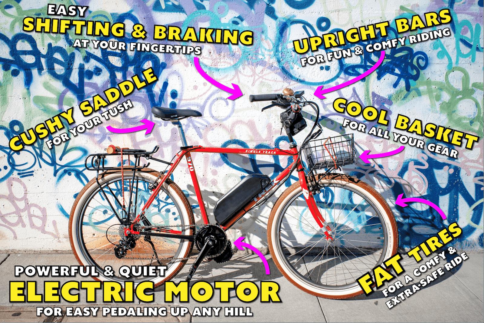 San Francisco Electric Bike