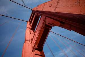 Get the best views of the Golden Gate Bridge by bike!