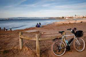 Ride the the perfect bike paths along Crissy Field and see some of SF's most charming beaches with great bridge and Alcatraz views
