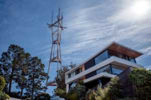 Some of the incredible architecture you'll see on the way up to Sutro Tower