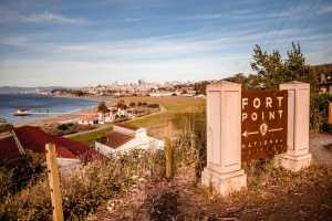 A great preview of our ride to Fort Point and then along the waterfront Crissy Field bike path