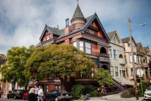 """Discover SF's most over the top 'painted lady"""" in the Haight"""