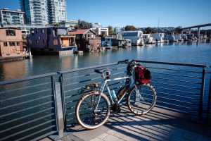 See SF's only houseboat community along the Mission Creek trail