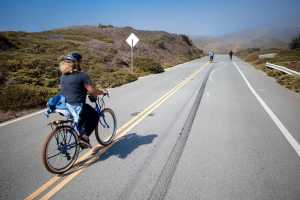 Riding up Twin Peaks is a breeze on the electric bikes