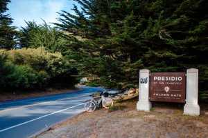 Enter the Presidio and get ready for your picnic lunch