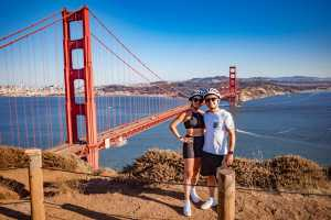 Get the absolute best views of SF and the Golden Gate by bike!