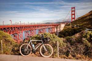 Ride the whole bridge and see SF from Marin County!