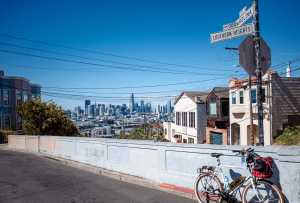 Explore the sunny Potrero Hill neighborhood with the city's best views